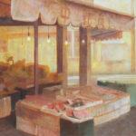 3年 津村果奈さんの作品「懐古」 秀作受賞