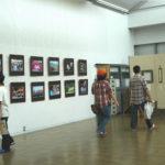 中央公民館で活動されている市民の方々の作品展示