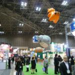 会場ではアニメ業界の一線で活躍する様々な企業がブースを出展していました。