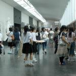 美術部作品展示の様子