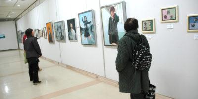 中区民作品展に出品しました