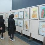 ◆基町高校公開講座受講生の作品展示