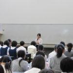 ◆開会式での美術部部長のあいさつ