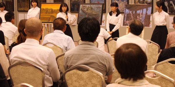 原爆の絵画展(ヒロシマの心を世界に2018)