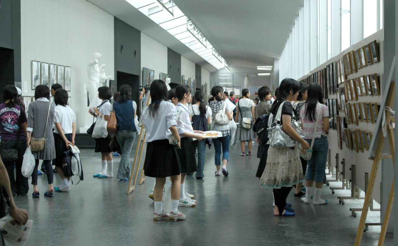 基町高校文化祭開催 | 広島市立基町高等学校 普通科 創造表現コース