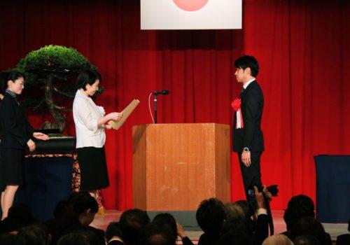 平成28年度 地域発デジタルコンテンツ総務大臣奨励賞受賞 平和のアニメーション