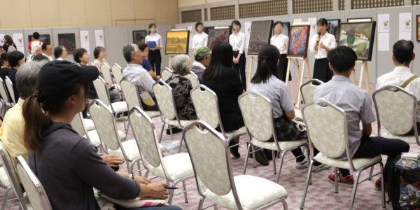 「ヒロシマの心を世界に」原爆の絵画展