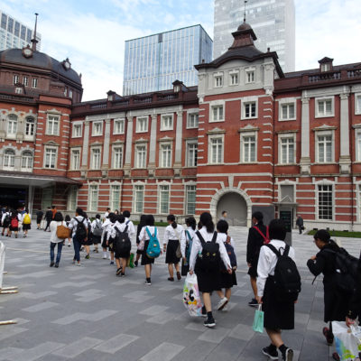 修学旅行進路別研修で東京芸術大学や森美術館を訪問しました