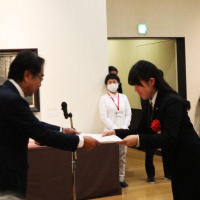 第10回 高校生 絵のまち尾道四季展  表彰式に出席しました