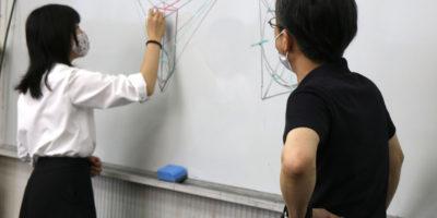 創造表現コース授業レポート「1年 透視図法」