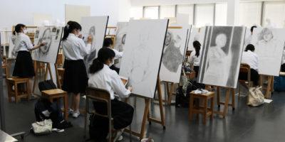 美術部の活動レポート
