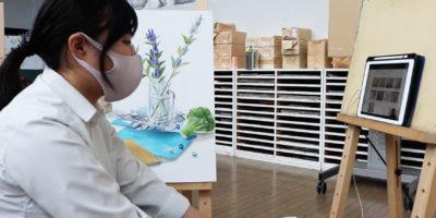 広島市立大学 芸術学部 サマースクール(オンライン)に参加しました。