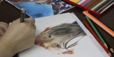 創造表現コース授業レポート「3年 絵画表現」