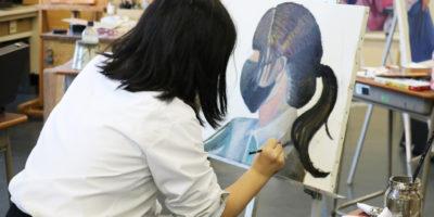 【美術部活動レポート】短期専門講座の様子