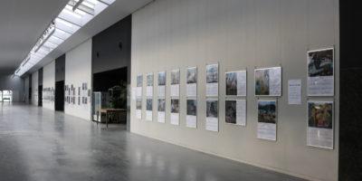 原爆の絵パネル展示
