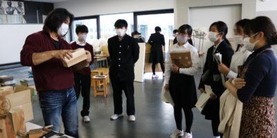 プロフェッショナル人材活用事業「 木彫講座 」が開催されました