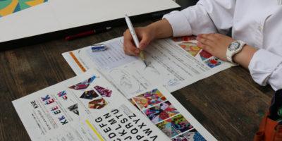 創造表現コース授業レポート「3年 ビジュアルデザイン」